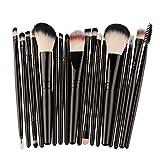 Moonuy Neue Make-up Pinsel Set, 18 Stück Make-up Toilettenartikel Wolle Make Up Pinsel Set