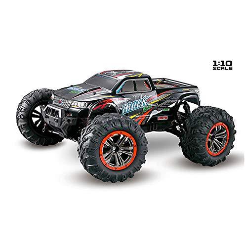 Qiulv 1:10 rc passeggino crawler auto 2.4g wd camion 46 kmh alta velocità a distanza controllo arrampicata fuori strada veicolo completo da uomo una varietà di terreno,red