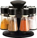 #9: 8 Jar Revolving Spice / Masala Rack / Masala Box / Spice Reck - CK363