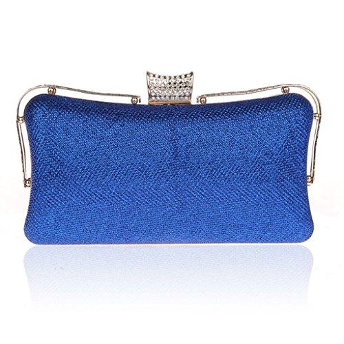 La nuova borsa borsa borsa tracolla vestito bag di diamante della moda mano banchetto di sera della sposa ( Colore : Blue Sale ) Blue Sale