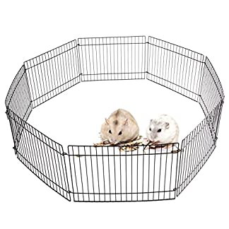 AllRight Pet Play Pen Pet Guinea Pig Rabbit Garden Play Pen 8 Panel Folding Metal Fence Cage AllRight Pet Play Pen Pet Guinea Pig Rabbit Garden Play Pen 8 Panel Folding Metal Fence Cage 51tbleP72jL