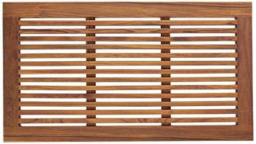 Bare Decor Dasha Spa Dusch- oder Fußmatte, aus massivem Teakholz, geölt, 80 x 45 cm