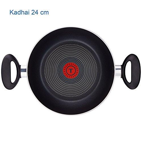 Tefal Ceremony 5 Piece Non-Stick Cookware Set (Black)