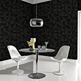 Graham & Brown Vlies Tapete Kollektion Modern Living, schwarz, 30-178