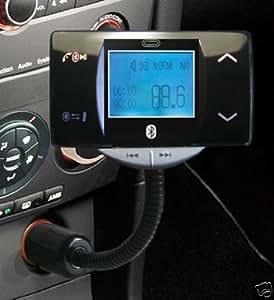 Car MP3 Player de voiture Transmetteur FM USB / SD / Bluetooth BT / Line-In + 2 télécommandes
