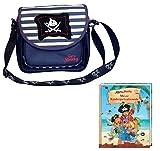 Spiegelburg Kindergartentasche Capt`n Sharky 2tlg. Set mit Eintragbuch