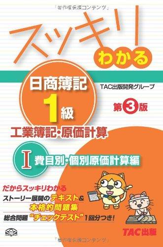 Sukkiri wakaru nissho boki ikkyu kogyo boki genka keisan. 1 (Himokubetsu kobetsu genka keisanhen).