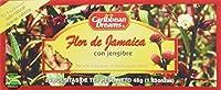 Caribbean Dreams Sorrel & Ginger Tea, 24 tea bags