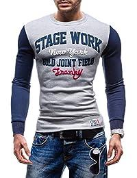 BOLF - Sweat-shirt - Pull de sport – STEGOL NS33 - Homme