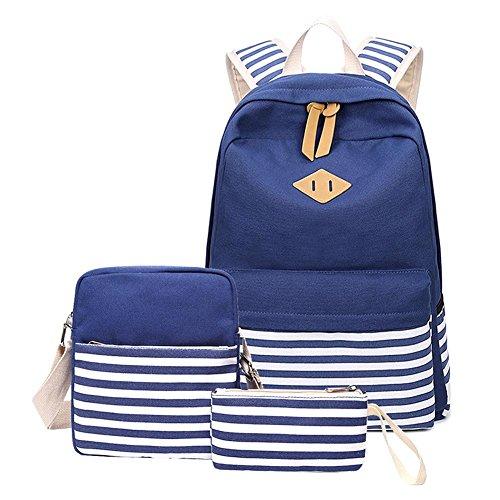 (Schulrucksack Set Schulranzen Schultasche Sports Rucksack Freizeitrucksack Daypacks Backpack für Mädchen Jungen & Kinder Damen Herren Jugendliche mit der Großen Kapazität By Seasaleshop)