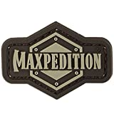 Maxpedition 1 Inch Logo (Arid) Moral Patch