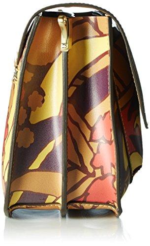 Bree - Cambridge 7 S17, Borsa a tracolla Donna Mehrfarbig (jungle Print)