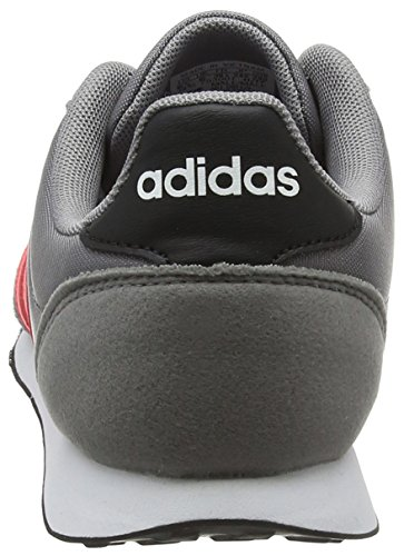 adidas Herren V Racer 2.0 Gymnastikschuhe Grau (Grey Three F17/solar Red/core Black)
