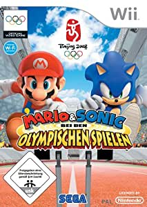 mario sonic bei den olympischen spielen nintendo wii games. Black Bedroom Furniture Sets. Home Design Ideas