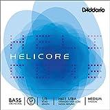 D\'Addario H611-1/8M Set de cordes Contrebasse G 1/8 Medium (805mm)