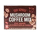 Four Sigma Foods Mushroom Coffee, 10 Count by Four Sigma Foods