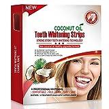 Grinigh 28 White-strips mit Kokosöl Bleaching Stripes Zahnauhellung-Streifen mit advanced