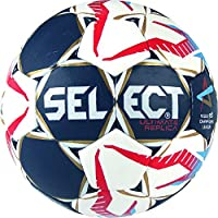 Select Ultimate Replica Cl de Balonmano, Color Azul/Blanco/Rojo, tamaño 1