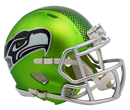 Riddell Blaze Alternate Speed Mini Helmet Seattle Seahawks