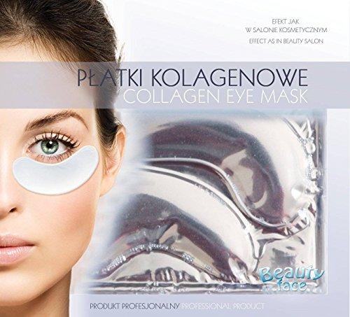 BEAUTY FACE - Collagen Augenmaske - Glättung, Anti-Geschwulst und Anti-Augenringe - Für einen frischen, rested und verjüngten Look