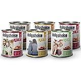 daily choice | 6 x 800 g | Nassfutter für Hunde | getreidefrei | Mix | 70% Frischfleisch- und Innereienanteil Optimale Verträglichkeit