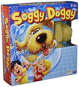 Spin Master 6039761-Spin Master Games-Soggy Doggy , Modelos/colores Surtidos, 1 Unidad