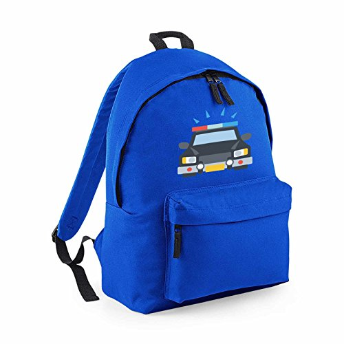 apparel-printing-emoji-oncoming-police-car-fashion-backpack-royal-blue