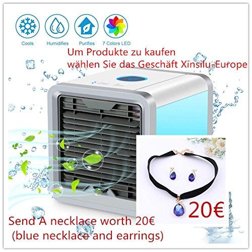 Produktbild Air Cooler Arctic Air Luftkühler Raumluftkühler LuftbefeuchterGeschenk 20 € blaue Halskette und Ohrringe