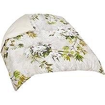 Designers Guild 3359104059191funda para edredón diseño floral satén Natural 240x 220cm
