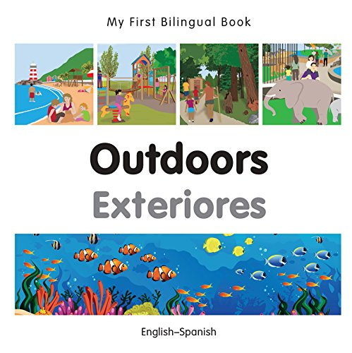 My First Bilingual Book–Outdoors (English–Spanish) por Milet Publishing