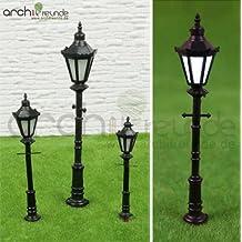 Sharplace 5 STK 1:100 Ma/ßstab LED Lampe Laterne Stra/ßenlaterne Parklaterne Modellbau