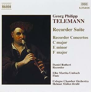 Telemann - Concertos pour flûte à bec / Suite pour flûte à bec