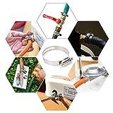 Collare di serraggio (80 Pezzi) - Fascette stringitubo regolabili in acciaio inossidabile - Venduto Da VIGRUE