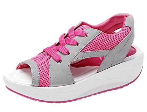 la-vogue-design-mesh-sandales-sports-peep-toes-compensees-femme-fille-souple-confortable-leger-fr37-