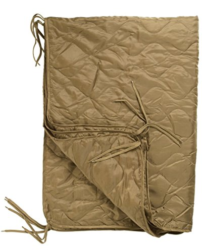 BKL1® PONCHO LINER STEPPDECKE COYOTE Outdoor Camping EDC Prepper zelten 559