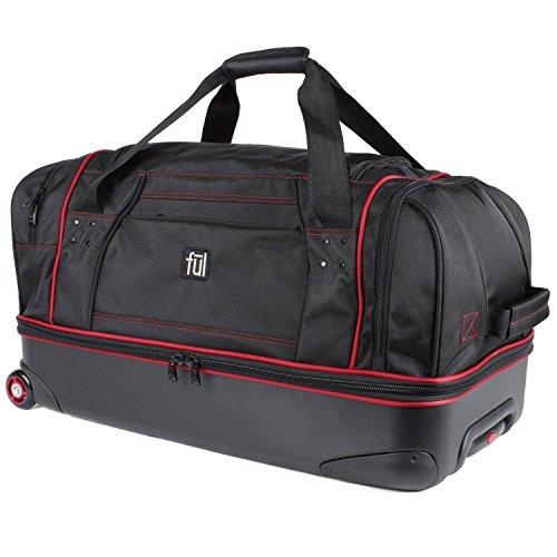 ful-71cm-hybrid-travel-duffel-black