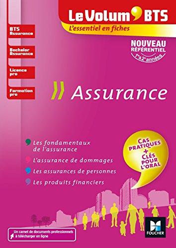 Le Volum' BTS - Assurance - BTS, Bachelor, Licence pro, formation pro - Révision et entrainement par Régine Marquet