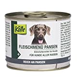 Kölle Nassfutter für Hunde Fleischmenü Pansen, 200 g