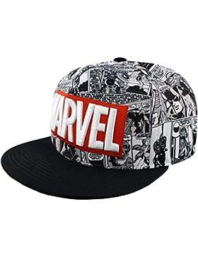 Marvel Classic Logo Snapback Cap Multicolor