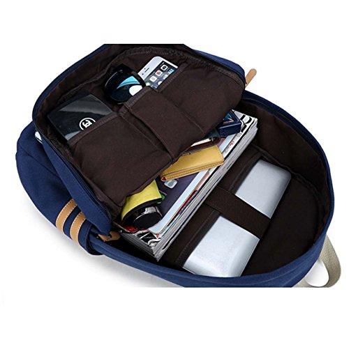 Sacchetto del calcolatore del sacchetto dell'allievo di scuola del vento della nuova di stampa della tela di canapa della borsa del sacchetto di spalla Black