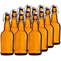 Chef 's Star Caso de 12–16oz. Easy Cap cerveza Botellas