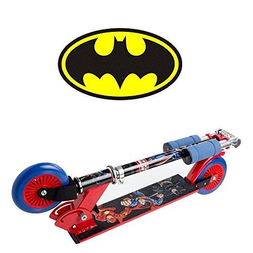 Monopattino a due ruote di Batman , Superman e Flash ! - D\'arpeje