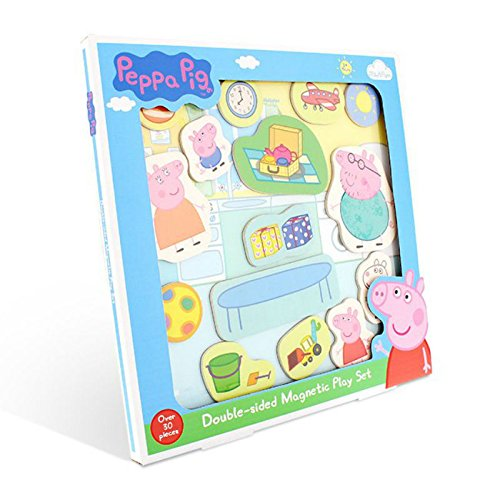 Peppa Pig Double-Sided Magnetic Play Set