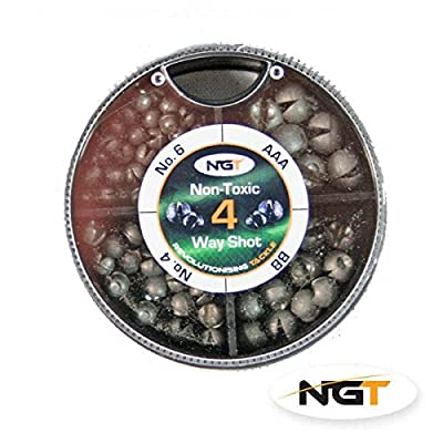 4 Way NGT Non Toxic Shot carp/coarse fishing by ngt