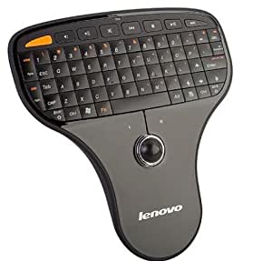Lenovo N5901 2 in 1 With 2.4G Wireless Mini Keyboard and Mouse Trackball Perfect For Home Theater PC