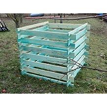 Elmato 14855 Madera Kom Póster compostador impregnada 120 ...