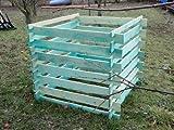 Elmato 14855 Holzkomposter Komposter imprägniert 120 x 120 x 100 cm