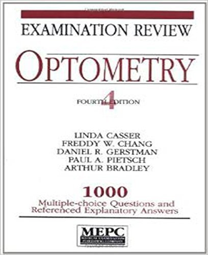 MEPC: Optometry: Examination Review 4th Edition by Casser, Linda, Chang, Freddy W., Gertsman, Daniel, Pietsch, (1994) Taschenbuch