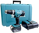 Makita DHP453SF Perceuse visseuse à percussion + 1 batterie 18V 3Ah Li-ion + coffret