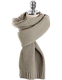 LAEMILIA Écharpe Femme Hiver Tricot Chandail Long Mohair Laine Douce Chaude  Wrap Châle Plaid Foulard d23f19568ab